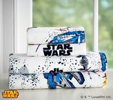 Pottery Barn Kids Star Wars(TM) Millennium Falcon(TM) Flannel Sheet Set