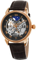 Stuhrling Original Mens Brown Strap Watch-Sp15621