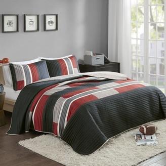Comfort Spaces Pierre Ultra Soft Printed Mini Quilt Set