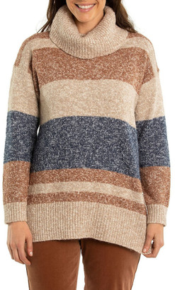 Yarra Trail Marled Stripe Knit Tunic