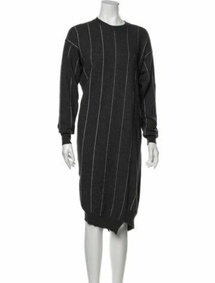 Stella McCartney 2013 Midi Length Dress Wool