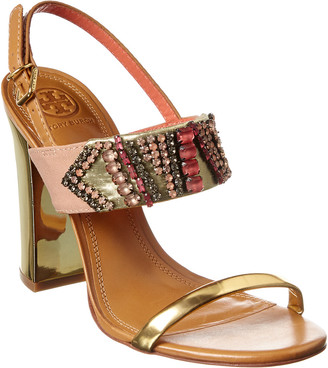Tory Burch Tanner Leather Sandal