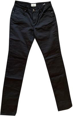 Cerruti Black Cotton Trousers for Women