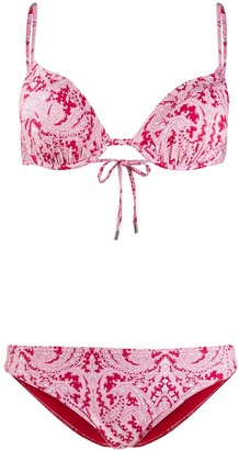 Etro Paisley Print Cup Bikini