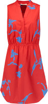 Tory Burch Chelsea printed stretch cotton-poplin mini dress