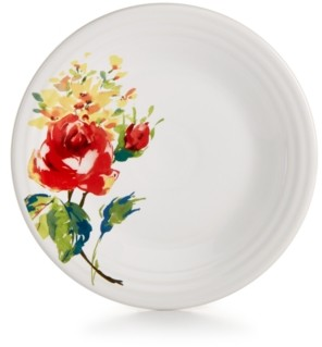 "Fiesta Ceramic Floral Bouquet 9"" Luncheon Plate"