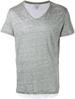 Majestic Filatures layered T-shirt - men - Cotton/Linen/Flax - S