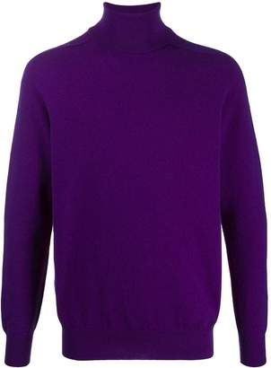 Drumohr roll-neck fitted sweater