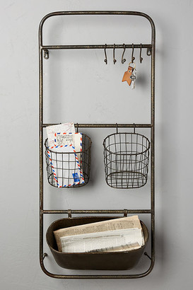 Anthropologie Iron Entryway Shelf Set By in Grey Size ALL