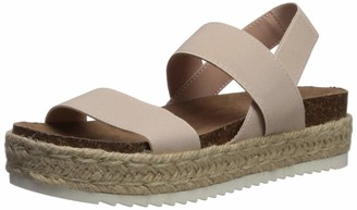 Madden-Girl Women's CYBELL Espadrille Wedge Sandal