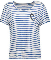 Kain Label Sabine Striped Stretch-Modal T-Shirt