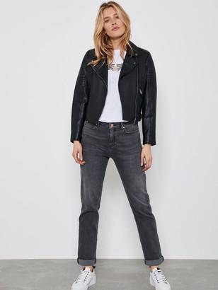 Mint Velvet Dakota Grey Boyfriend Jeans - Grey