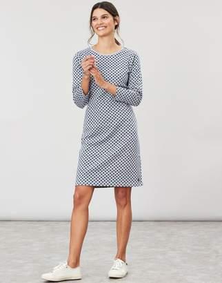 Joules Emilie 3/4 Sleeve Jersey Dress