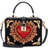 Dolce & Gabbana Dolce Box embellished shoulder bag