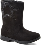 Ositos Shoes Girls' Casual boots BLACK - Black Sequin-Star Boot - Girls