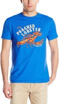 G.H. Bass Men's Short Sleeve Poached Lobster Graphic Tee