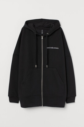 H&M Oversized hooded jacket