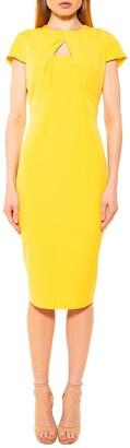 Alexia Admor Bella Chest Cutout Midi Dress