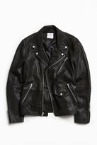 Urban Outfitters Beatdown Leather Moto Jacket