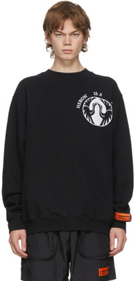 Heron Preston Black Heron Bird Sweatshirt
