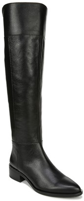Franco Sarto Leather Studded Detail Cold Weather Boots - Daya