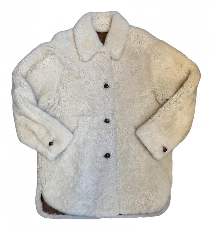 Thumbnail for your product : Isabel Marant Ecru Shearling Coats