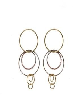 Area Stars Circles Earrings