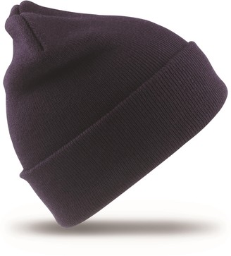 Result Kids Winter Essentials Heavyweight Knit Poly-Acrylic Wooly Ski Hat Bottle One Size