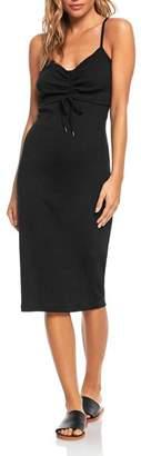 Roxy Wave Dreamer Rib-Knit Dress