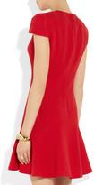 Alexander McQueen Wool-crepe dress