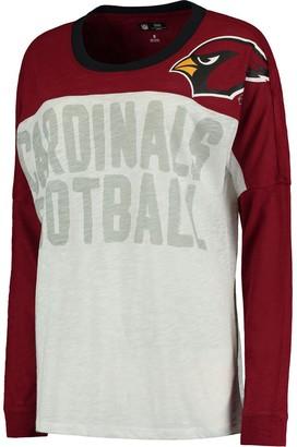 G Iii Women's Cardinal Arizona Cardinals Ralph Long Sleeve T-Shirt