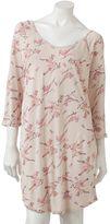 Lauren Conrad Kohl's cares bird sleep shirt