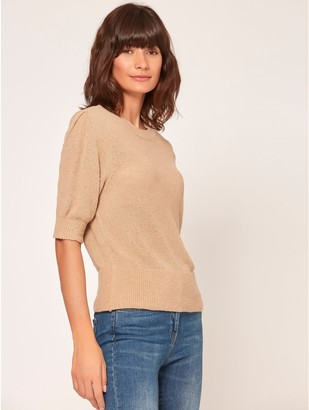 M&Co Puff sleeve jumper