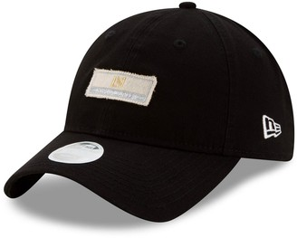 New Era Women's Black LAFC Patch 9TWENTY Adjustable Hat