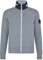 Stone Island Knitted Zip Hooded Sweatshirt