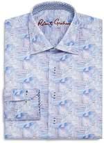 Robert Graham Boys' Geometric Print Dress Shirt - Big Kid