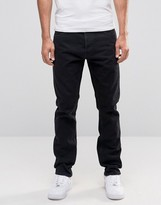 Weekday Common Straight Jeans Black Fever