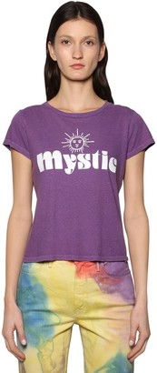 Mother Mystical Printed Cotton T-shirt