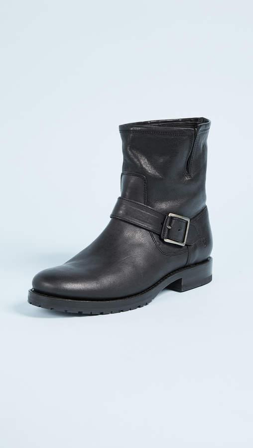 Frye Natalie Short Engineer Boots