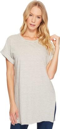 LAmade Women's Stripe Wide Fit Tunic