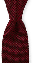 Roundtree & Yorke Trademark Knit Solid Traditional Silk Tie