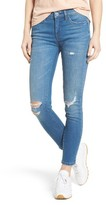 Blank NYC Women's Blanknyc Ripped Ankle Skinny Jeans