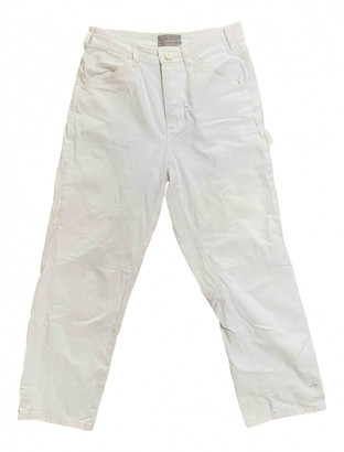 Everlane White Cotton Trousers