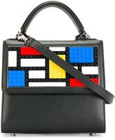 Les Petits Joueurs lego motif tote - women - Leather - One Size