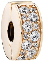Pandora Clip - 14K Gold & Cubic Zirconia Shining Elegance, Moments Collection