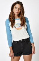 La Hearts Los Angeles 3/4 Sleeve Raglan T-Shirt