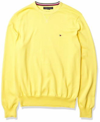 Tommy Hilfiger Men's Solid Crewneck Sweater