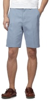 Maine New England Big And Tall Pale Blue Chino Shorts