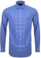 Ralph Lauren Long Sleeved Stretch Shirt Blue