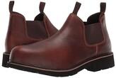 Wolverine Ranchero Steel Toe Romeo (Brown) Men's Slip on Shoes